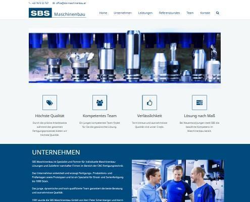 SBS-Maschinenbau-Intro